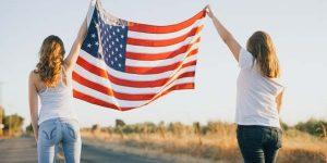 American women's beauty